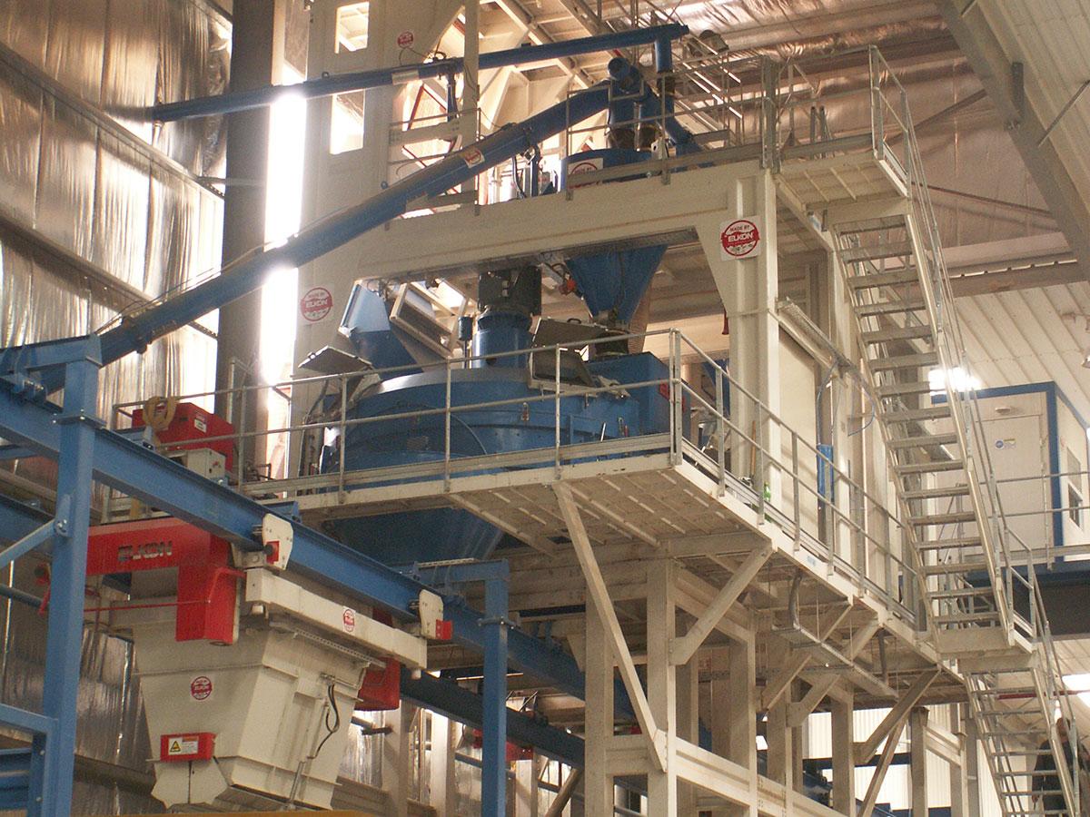 рециклинг бетона технологическая схема