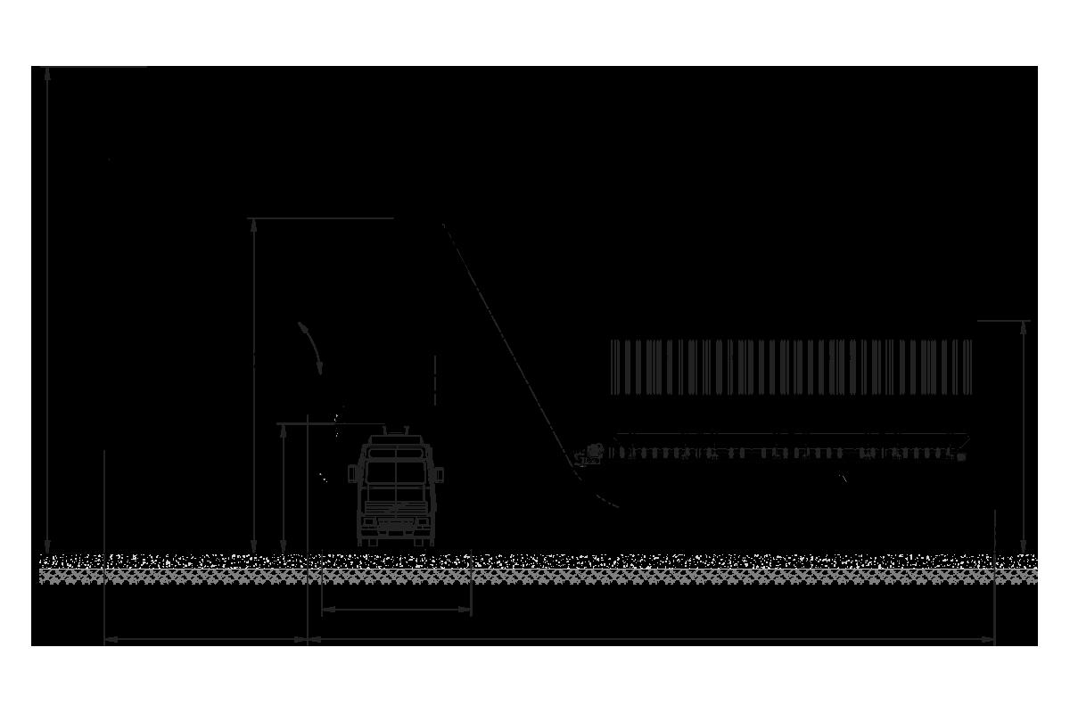 Mobilny węzeł betoniarski