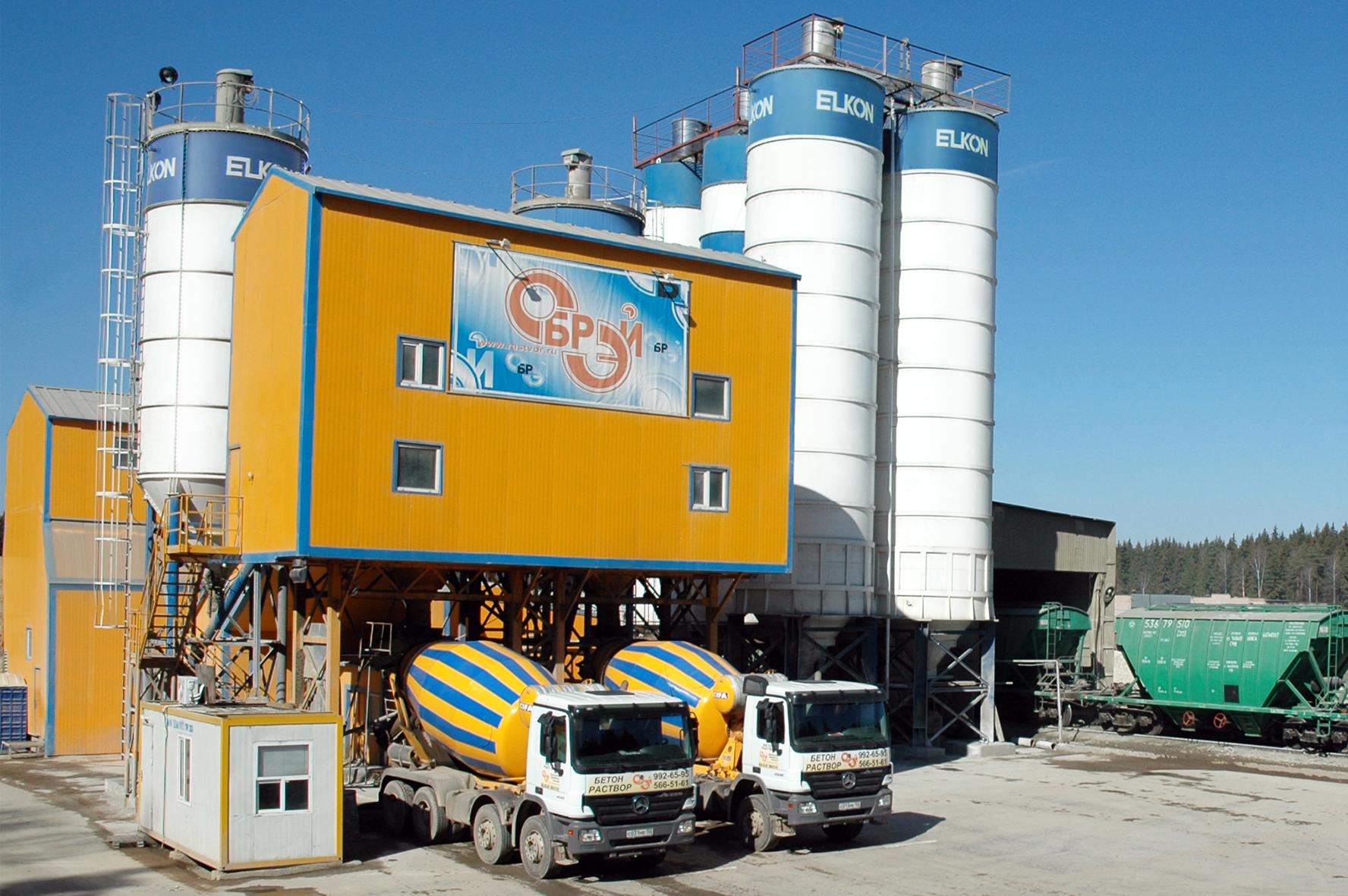 Завод бетона в московской области заказать бетон железнодорожный